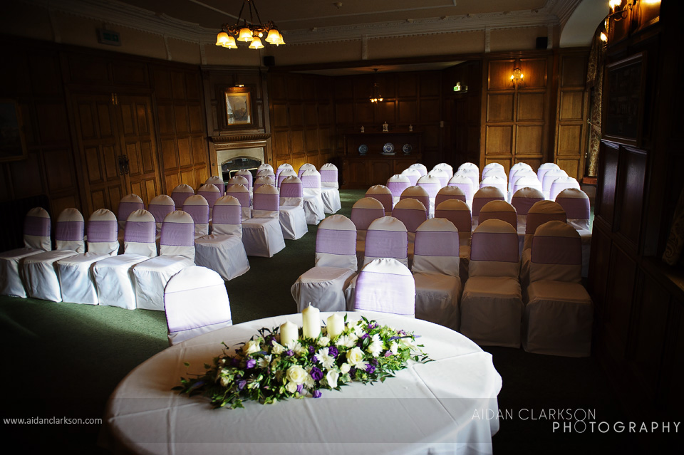 wedding photography at the petwood hotel