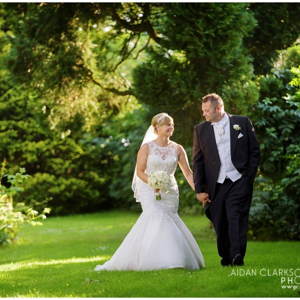 Healing Manor Weddings with Angelique and Danny